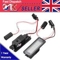 2pcs LED Number License Plate Light Lamp For VW GOLF MK4 5 6 7 Seat Polo Passat