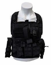 Military Army Fans Carrier Outdoor Tactical Sports MOLLE Gear Adjustable Vest 21