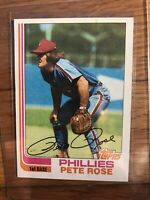 1982 Topps Pete Rose Philadelphia Phillies #780 Baseball Card