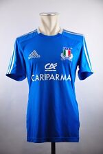 Rugby Italien Gr. S Adidas Rugby Shirt Jersey Italy F.I.R. ITALIA 2012 cariparma
