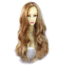 Wiwigs Fabulous Strawberry Blonde Long Wavy Layered Skin Top Ladies Wig