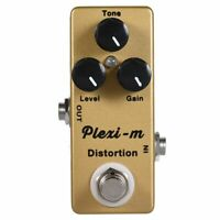 MOSKY Plexi-m Electric Guitar Distortion Effect Pedal Guitar Parts Full Met T3P6