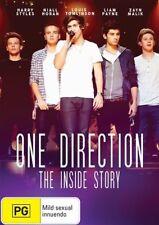 One Direction: The Inside Story NEW R4 DVD