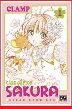 CARD CAPTOR SAKURA Clear Arc 1 01 Nov 2017 PIKA Manga Shojo CLAMP # NEUF #