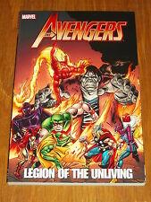 Thor De Vengadores legión de Unliving Marvel Iron Man Hawkeye 9780785159681