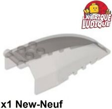 Lego - 1x Windscreen 8x4x2 Cockpit Handle Black Clear/Trans Black 92579 New