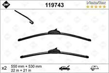 "SWF Front Wiper Blade 2pcs 550 530 mm 22/21"" Fits AUDI A6 4B JAGUAR Z204Z313"