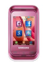 Samsung Champ c3300i Sweet Pink Smartphone 1.3 MP Camera 3300i Without Simlock New