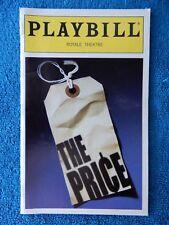 The Price - Royale Theatre Playbill - February 2000 - Bob Dishy - Harris Yulin