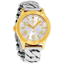 Nixon 38-20 Silver Dial Stainless Steel Ladies Watch A410228100