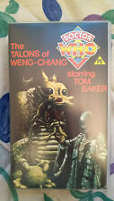 More details for 1988 88 dr doctor who pal vhs talons of weng chiang yellow label new sealed