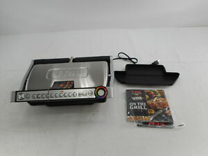 T-fal GC722D53 - 1800W OptiGrill XL Stainless Steel Large Indoor Electric Grill