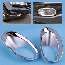 For 2010-2011 Honda CRV CR-V ront Fog Light Lamp Bumper Trim Cover Chrome
