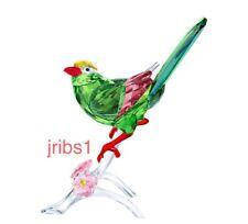 Swarovski GREEN MAGPIE BIRD 2017 CRYSTAL FIGURINE 5244650