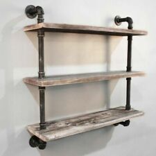 Artiss PIPE-92-3LVL-WALL 3 Level 92cm Wall Mounted Bookshelf