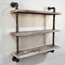 Artiss PIPE-92-3LVL-WALL 3 Level 92cm Wall Mounted Bookshelf