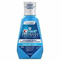 Crest Pro-Health Advanced Fluoride Mouthwash With Extra Deep Clean, 33.8 Oz/1 L