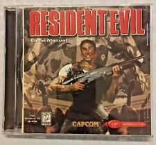 RESIDENT EVIL (1997) Win 95 PC CAPCOM/VIRGIN INTERACTIVE - Guaranteed!! RARE!