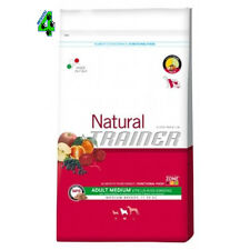 NATURAL TRAINER MEDIUM ADULT MANZO RISO GINSENG CANE 12 kg CROCCHETTE PER CANI