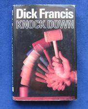 DICK FRANCIS - KNOCK DOWN 1st Edition in Jacket