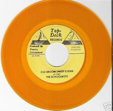 "SCHOOLBOYS - Old Broom Sweep Clean /TOP DECK /7"" Single"