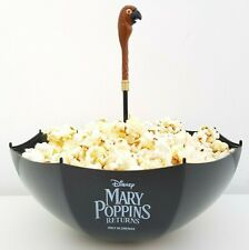 Disney Mary Poppins Returns 2018 Cinema Popcorn Sweet Bowl Parrot Umbrella NEW