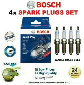 FOR SUBARU OUTBACK 2.5 i AWD 2009->on 4x BOSCH SPARK PLUGS