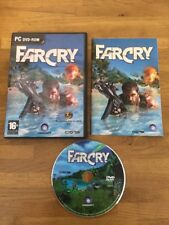 FAR CRY 1 For Pc DVD Rom Original Release FARCRY with Manual - Free Postage