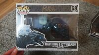 Game Of Thrones - Night King And Icy Viserion Funko Pop