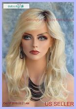 """""""Orchid"""" LACE FRONT W/ LACE PART WIG BLOND ROOTED RH26/613RT8*NIB MUST SEE"""