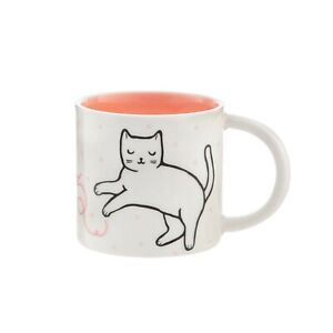 Cutie Cat Mug Sass & Belle Feline Good White Porcelain Home Gift Coffee Tea Cup