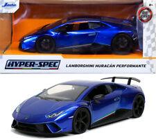 Lamborghini Huracan Performante Hyper-Spec Blau Blue 1:24 Jada Toys 32256
