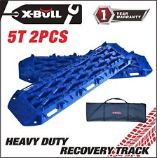 X-BULL New Recovery Traction Tracks Sand Mud Snow Track Tire Ladder 4WD Blue
