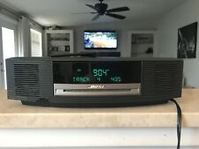 BOSE WAVE MUSIC SYSTEM AWRCC1 AM/FM CD PLAYER REMOTE INCLUDED