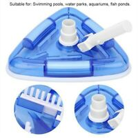 Home Swimming Pool Tool Suction Vacuum Head Brush Cleaner Above Ground Inground