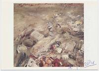 Klaus Fußmann - original signiert Autogramm auf Kunstpostkarte – Wannsee