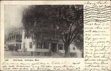 Huntington MA Park House c1905 Postcard