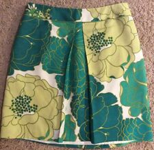 Ann Taylor Multi Colored Floral Skirt Size 8 Petite NWOT