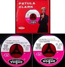 EP Petula Clark: Les James Dean + 3 (VOGUE EPL 8294) F 1964 avec TONY HATCH