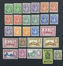 MOMEN: ST LUCIA SG # 1938-48 MINT OG LH £100+ LOT #5313