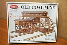 MODEL POWER N SCALE BUILDING KIT OLD COAL MINE