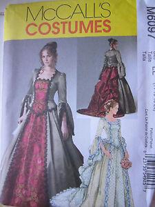 McCalls 6097 Dress Skirt Top Train Bride Revolution SEW PATTERN Sizes 6-12 NEW