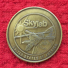 SKYLAB I THE UNITED STATE'S  FIRST SPACE STATION BRONZE COMMEMORATIVE COIN