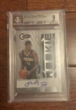 2010-11 Totally Certified Paul George #173 - RC Autograph & Jersey - BGS 9 Mint