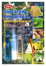 Insecticide-Fungicide Rescuer of Grapes. Fertilizer