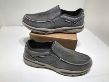 Skechers Men's Relaxed Fit-Creston-Moseco Moccasin Size 13 / 47.5 ( MINT)