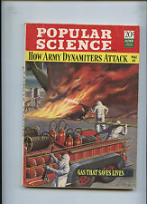 1942 Popular Science How Army Dynamiters Attack Gas Saves Lives Chesterfield Ad