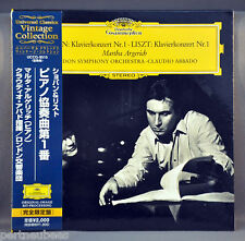 ABBADO & LSO CHOPIN & LISZT: Piano Concerto UCCG-9515 JAPAN Mini LP CD Sealed