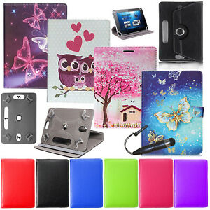 "For Alcatel 1T7 7.0"" Tab Shockproof PU Leather Flip Stand Universal Case Cover"