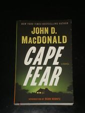 CAPE FEAR - THE EXECUTIONERS by John D. MacDonald 2014 Paperback MADE INTO MOVIE